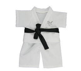 Karate Outfit with Black Belt